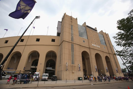 Northwestern's Ryan Field is the smallest Big Ten stadium in terms of current seating capacity at 47,130.