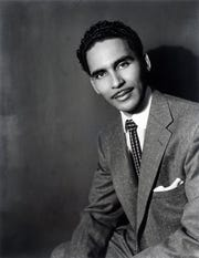 The definition of dapper: Bandleader, producer and Hi Records impresario Willie Mitchell poses for an Ernest Withers portrait in the 1950s.