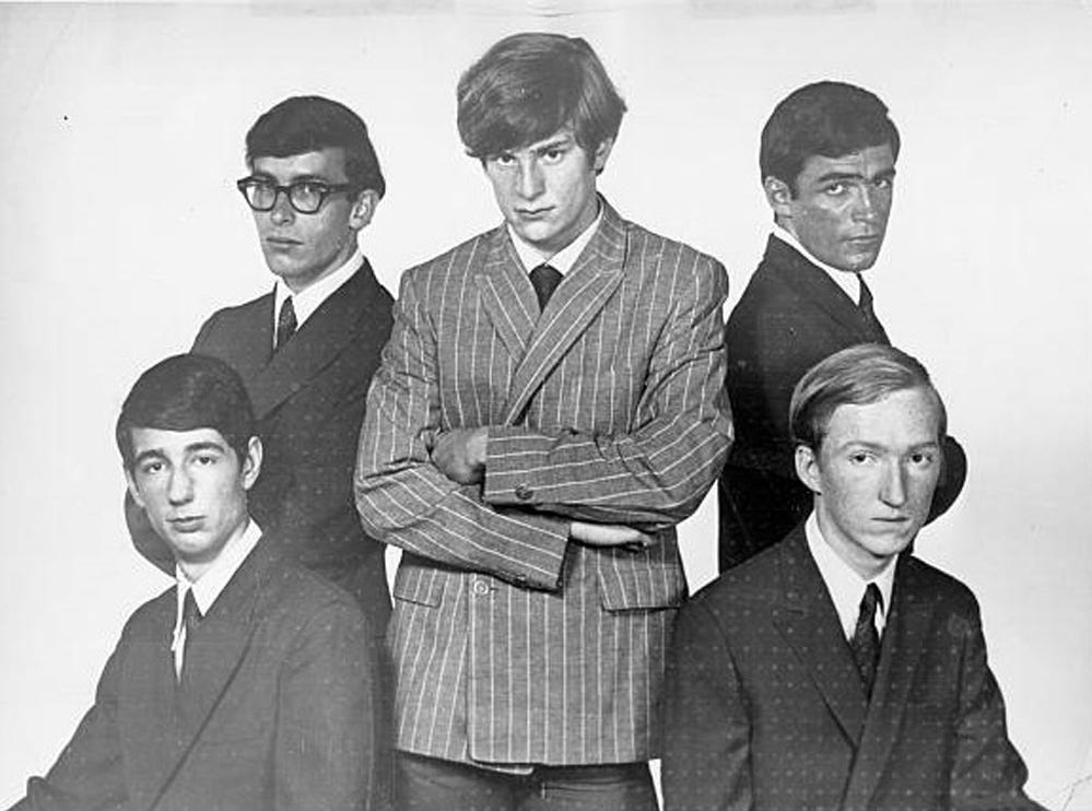 The Box Tops (with Alex Chilton, center) were reliable hitmakers in the 1960s.