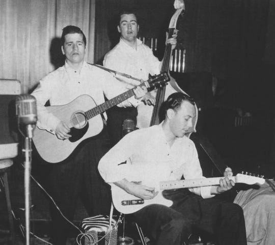 The Rock and Roll Trio put the rock into rockabilly.