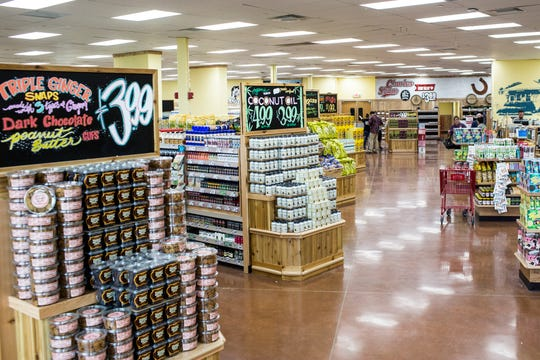 A look inside of the new Trader Joe's grocery store in Germantown.