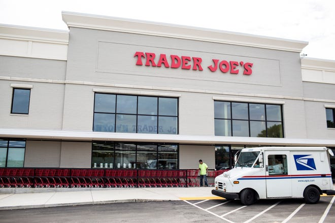 September 11 2018 - A look inside of the new Trader Joe's grocery store in Germantown. The store will have its grand opening on September 14.