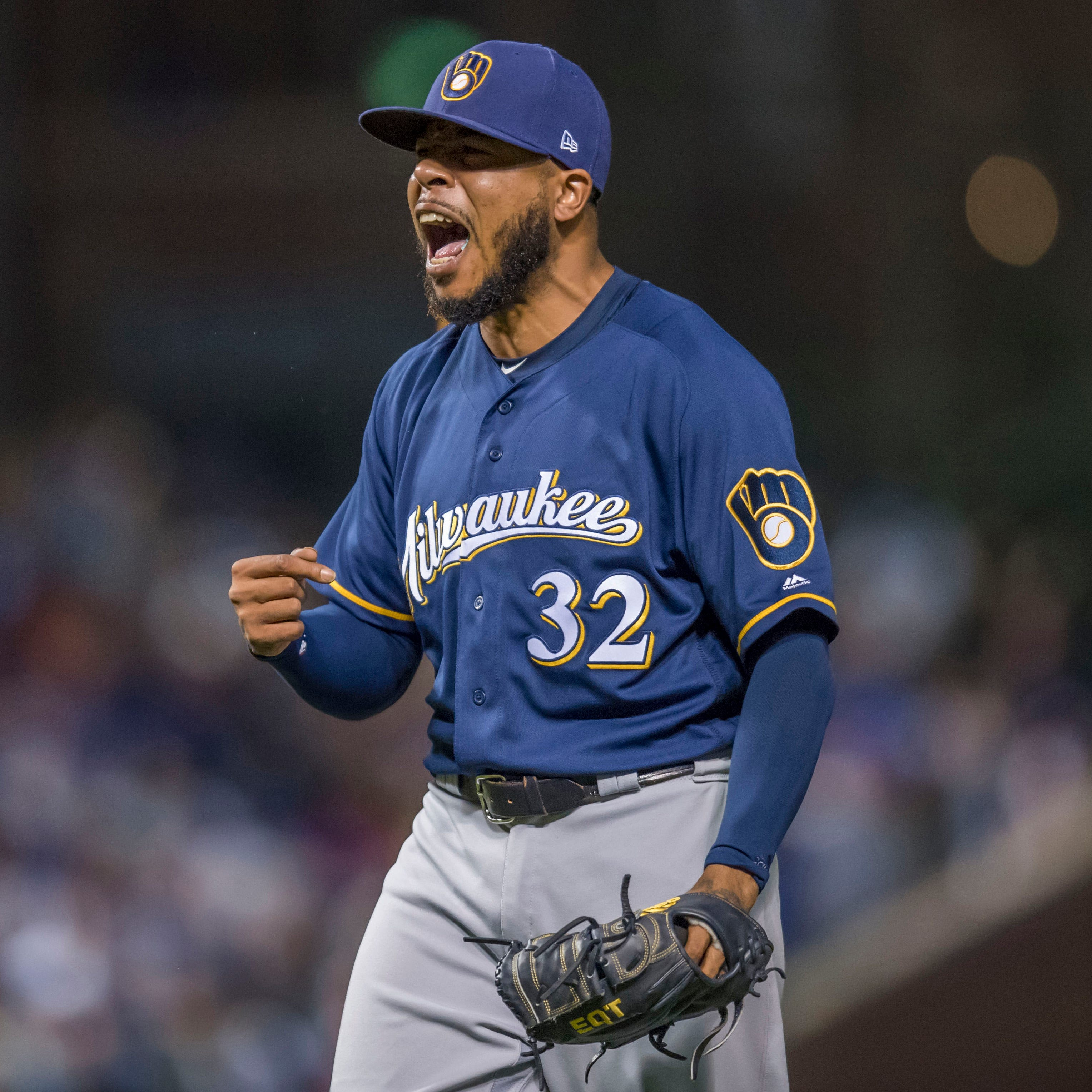 Brewers say every game counts the same but they know what beating Cubs means at this point