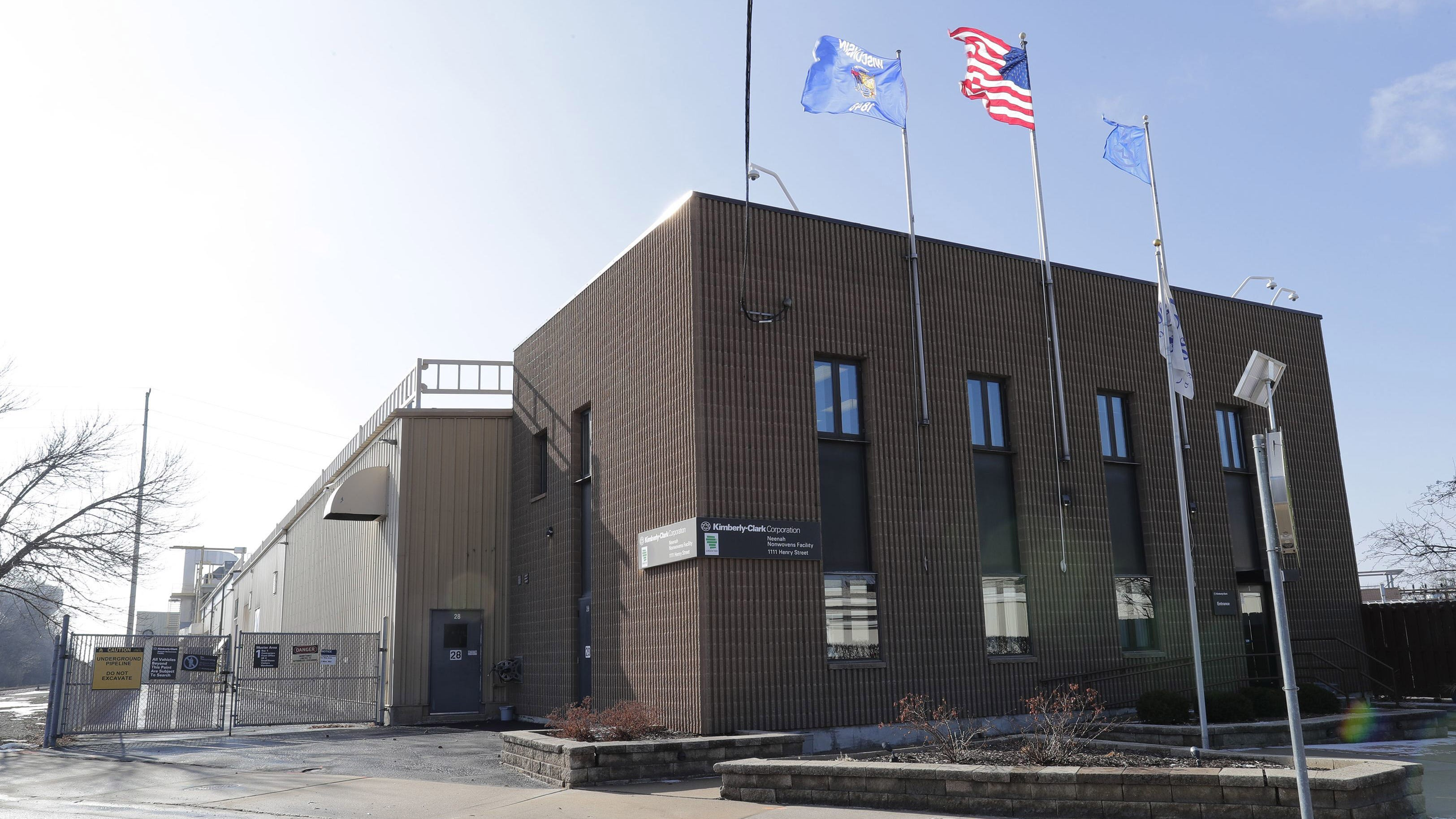 Kimberly-Clark Corp.'s Neenah Nonwovens Facility at 1111 Henry St. in Neenah will be closed.