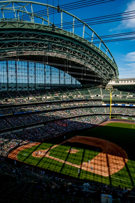 Mlb San Francisco Giants At Milwaukee Brewers
