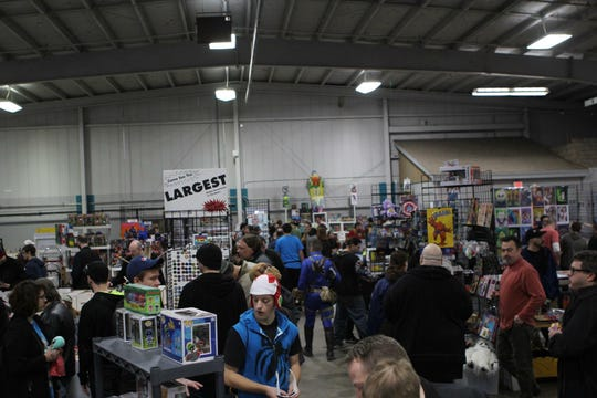 Milwaukee Comic Con!, presented by Mighty Con, is Sept. 22 at the Wisconsin Products Pavilion at State Fair Park.
