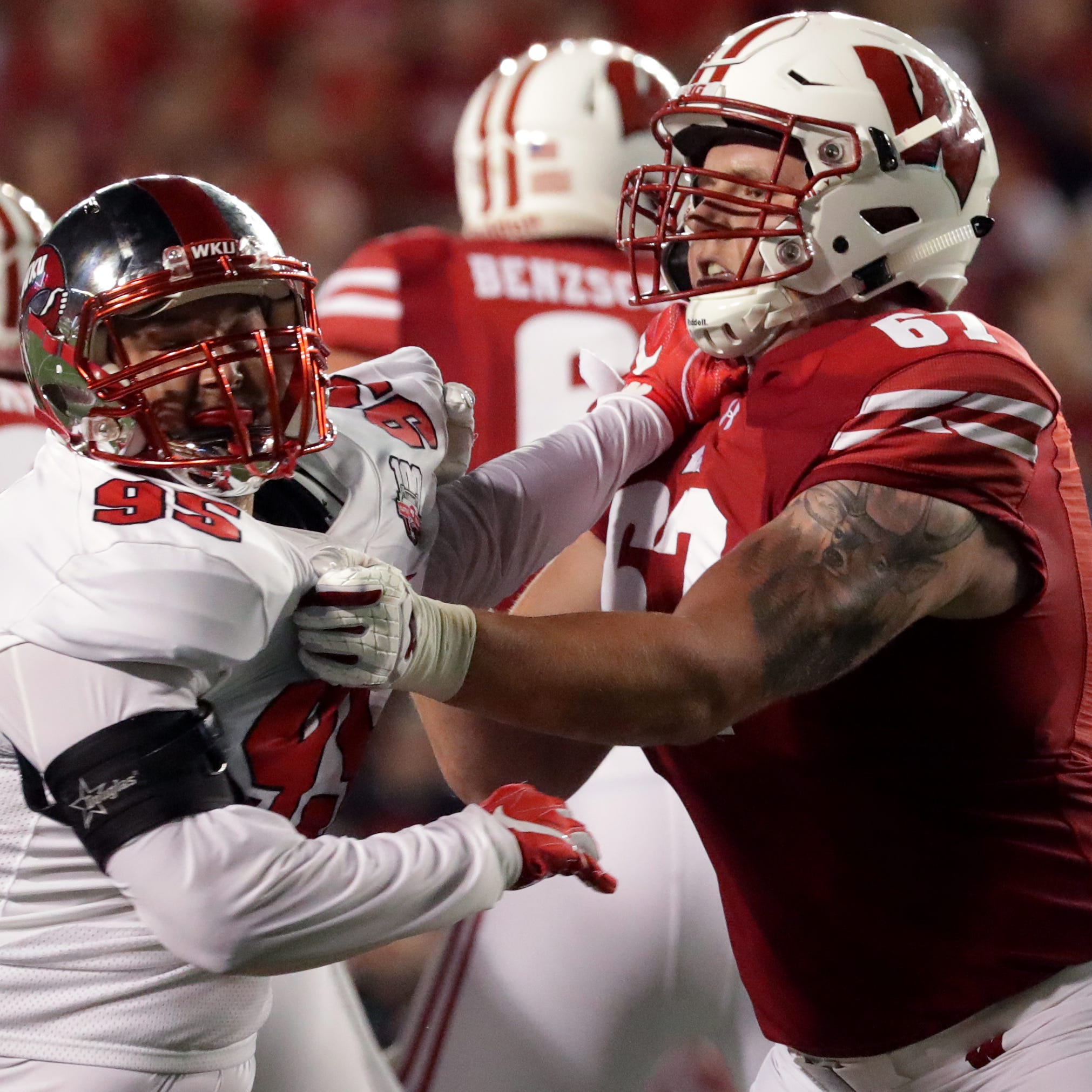 Seymour's Jon Dietzen, who has battled injuries at Wisconsin, opts to walk away from football