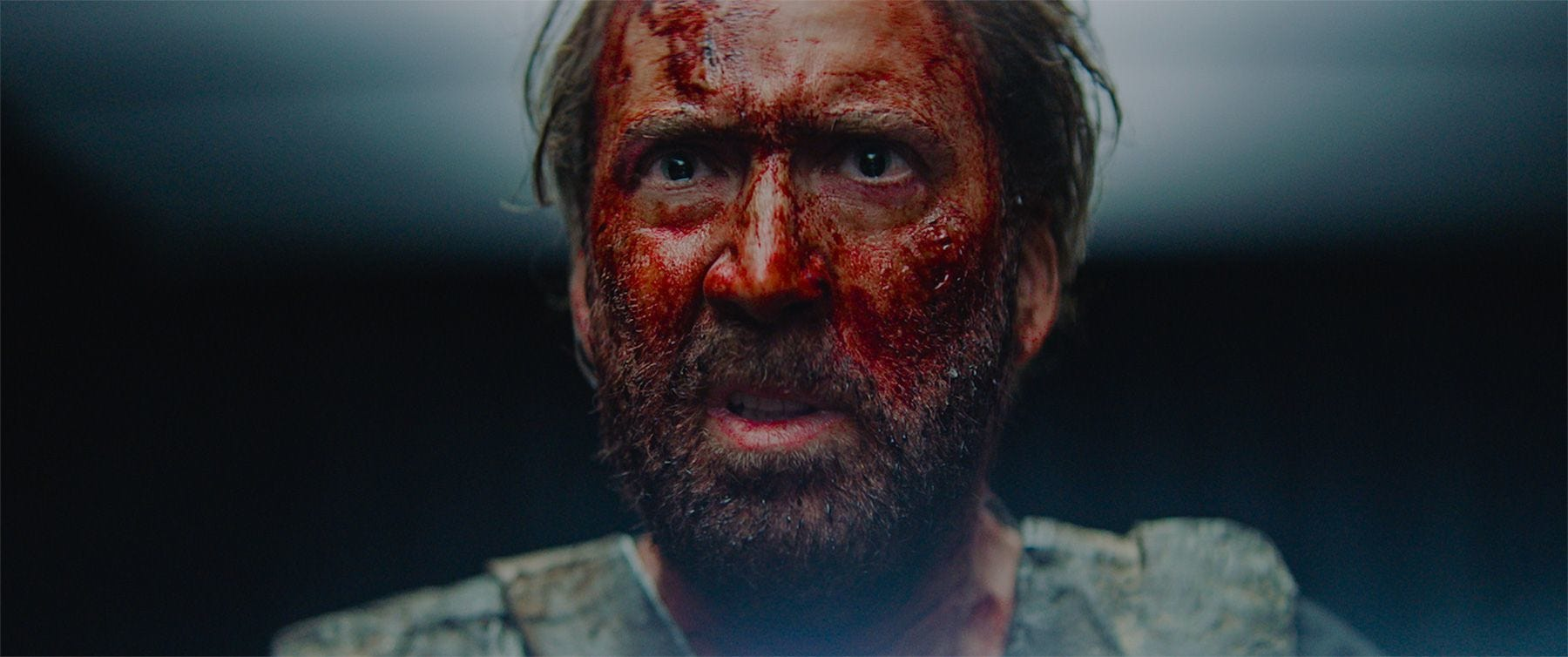 "Nicolas Cage is out for blood in the revenge thriller ""Mandy."""