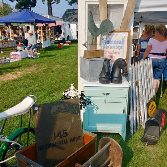 Reserve a full day for picking at the Elkhorn Antique Flea Market at the Walworth County Fairgrounds.