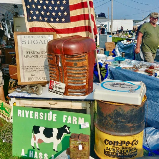 The huge Elkhorn Antique Flea Market holds its last event of the year on Sunday, Sept. 30.