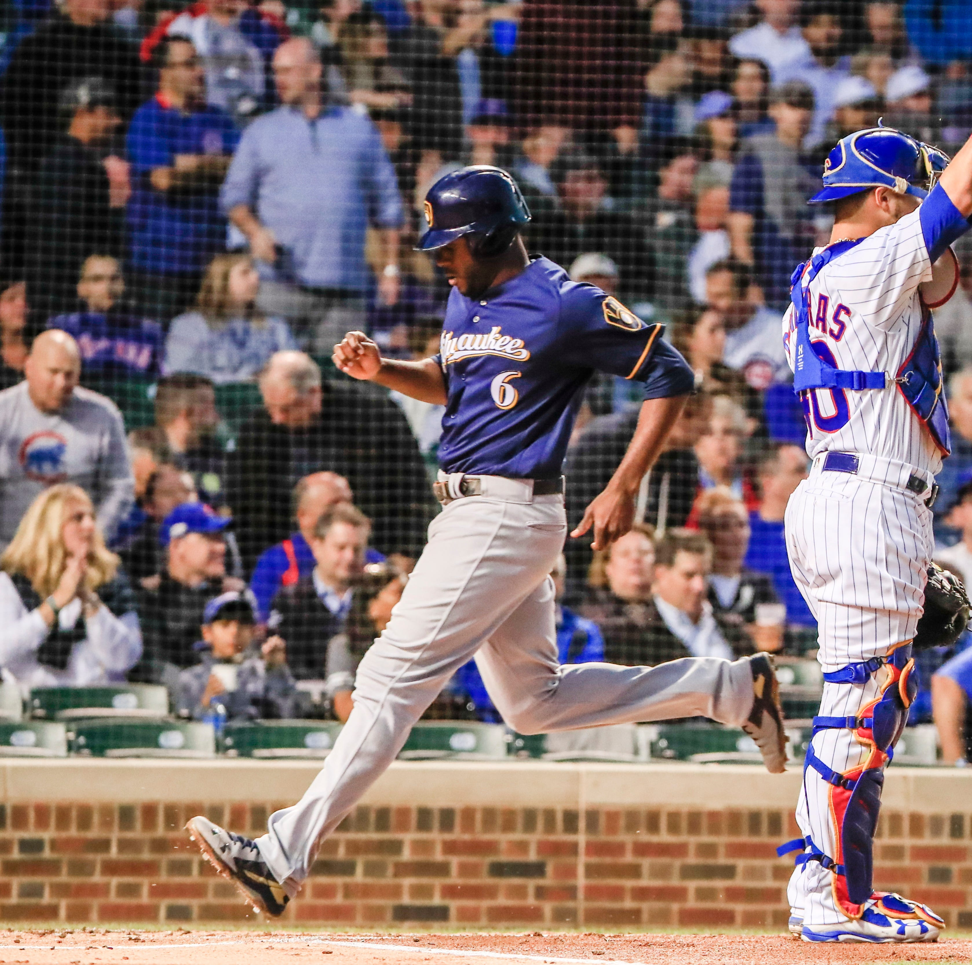 Brewers 3, Cubs 2: Chicago's lead cut to one game in NL Central as Brewers continue surge