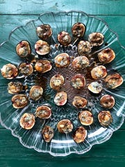 Blue Cheese Stuffed Figs can also be stuffed with manchego cheese.