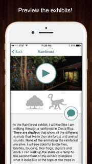 Social stories in the Milwaukee Public Museum's All In app help people to see what they can expect in each exhibit.