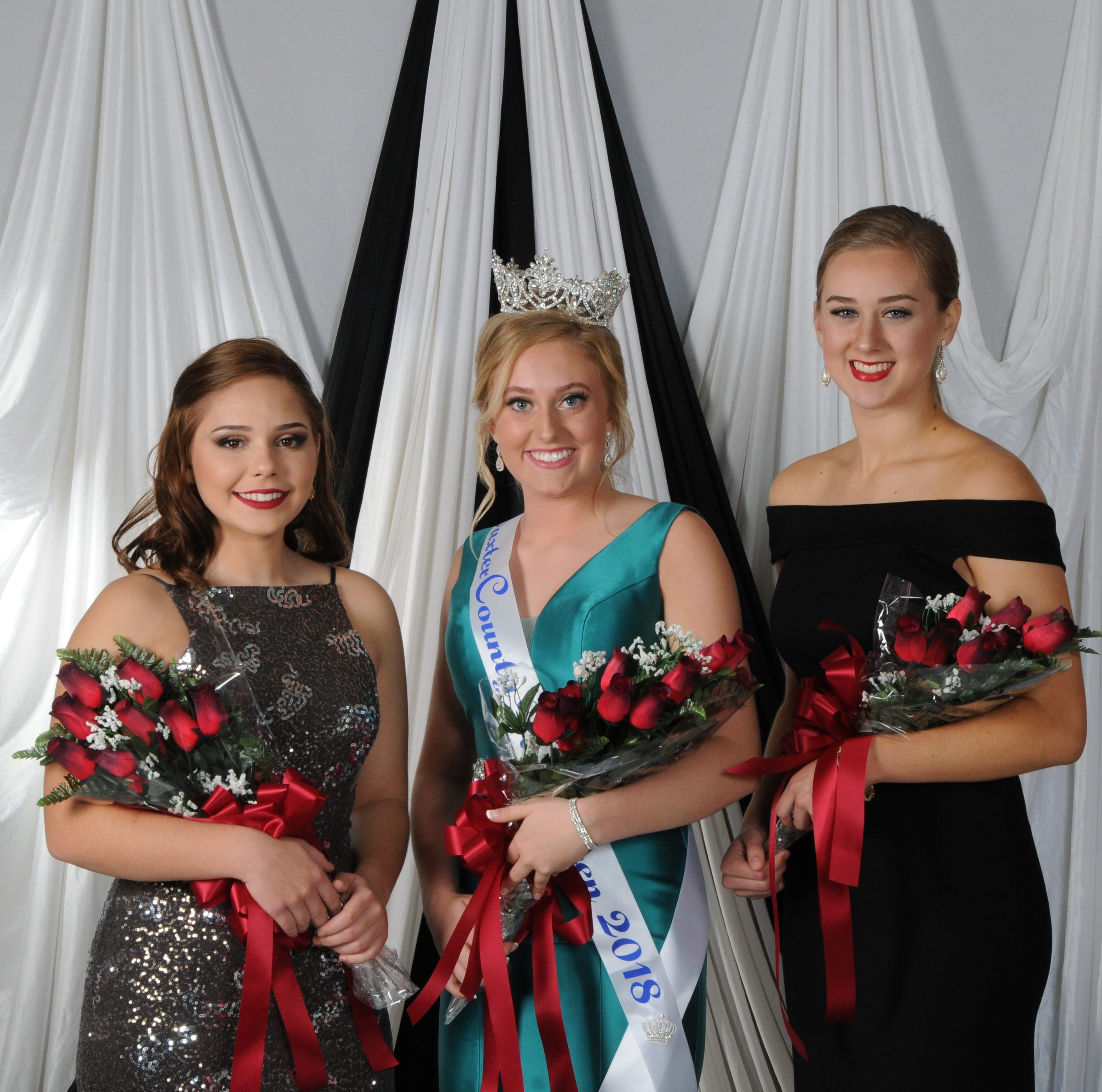 Baxter County Fair Pageant royalty