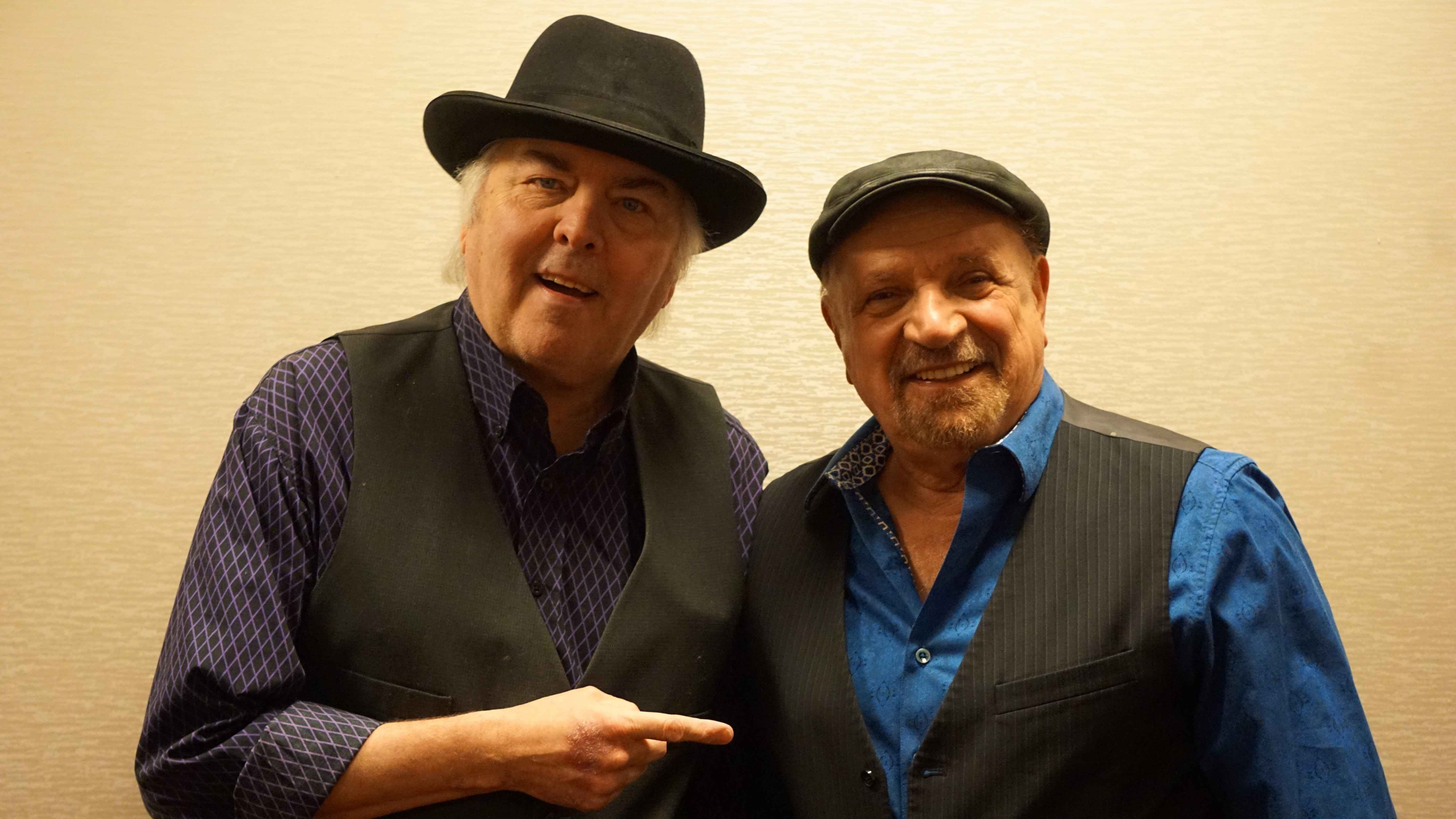 """Guitarist Gene Cornish (left) and vocalist-keyboard player Felix Cavaliere, two of the founding members of the Rascals, have reunited for the first time in five years.  Joined by drummer Carmine Appice, they will perform such songs as """"Good Lovin'"""" and """"People Got to Be Free"""" at the Mayo PAC in Morristown on Friday, September 21."""