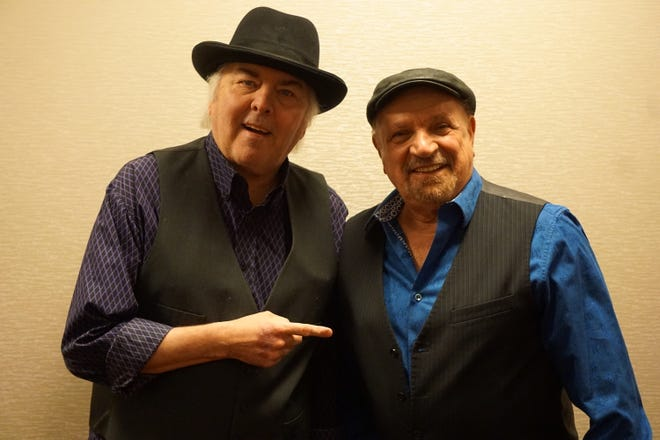 "Guitarist Gene Cornish (left) and vocalist-keyboard player Felix Cavaliere, two of the founding members of the Rascals, have reunited for the first time in five years.  Joined by drummer Carmine Appice, they will perform such songs as ""Good Lovin'"" and ""People Got to Be Free"" at the Mayo PAC in Morristown on Friday, September 21."