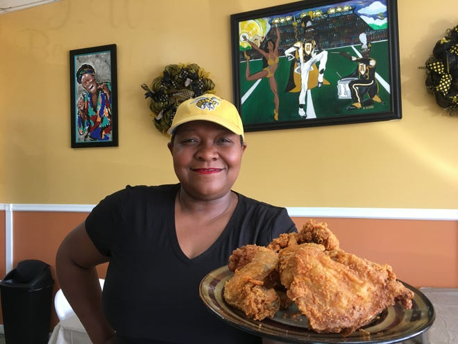 Teresa Jackson opened J.W. Beverette's on South Decatur Street last year.