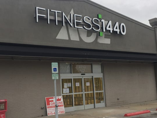 Fitness:1440 is renovating space in the former ACE HArdware location in Mt. Juliet. Nothing Bundt Cakes opened last month also taking a portion of the former ACE Hardware space.