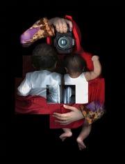 "Maitha Demithan (Emirati), ""Mother,"" 2017, scanography, 39.4""x31.5"", ©"