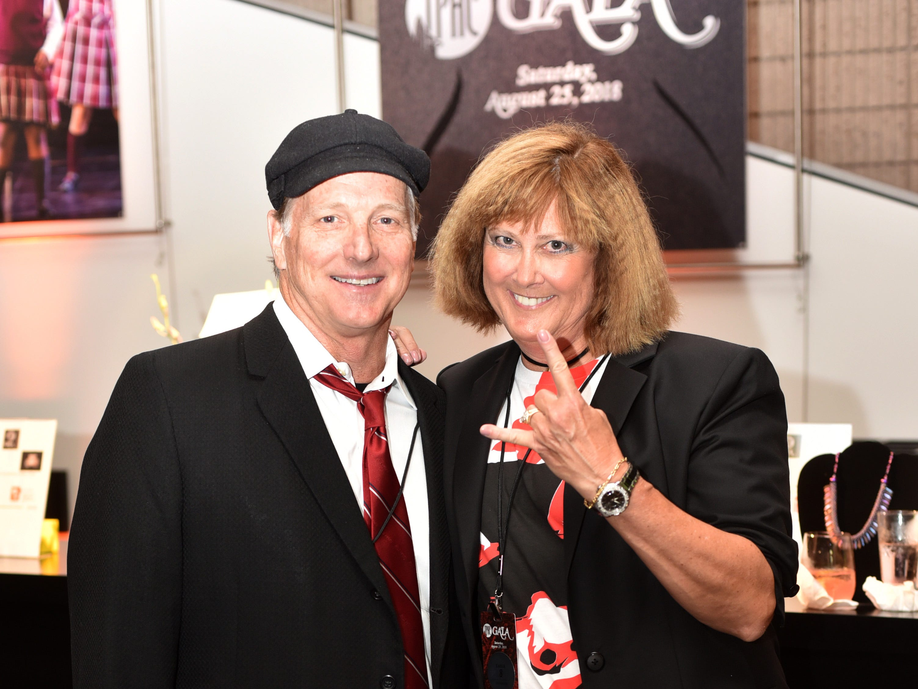 "Jim and Michelle Schmitz dressed to the ""School of Rock"" theme for the 18th annual TPAC Gala on Aug. 25."
