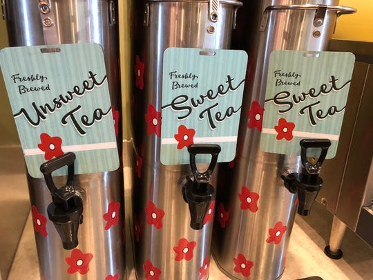 Sweet tea, anyone? Chicken Salad Chick has got you covered.