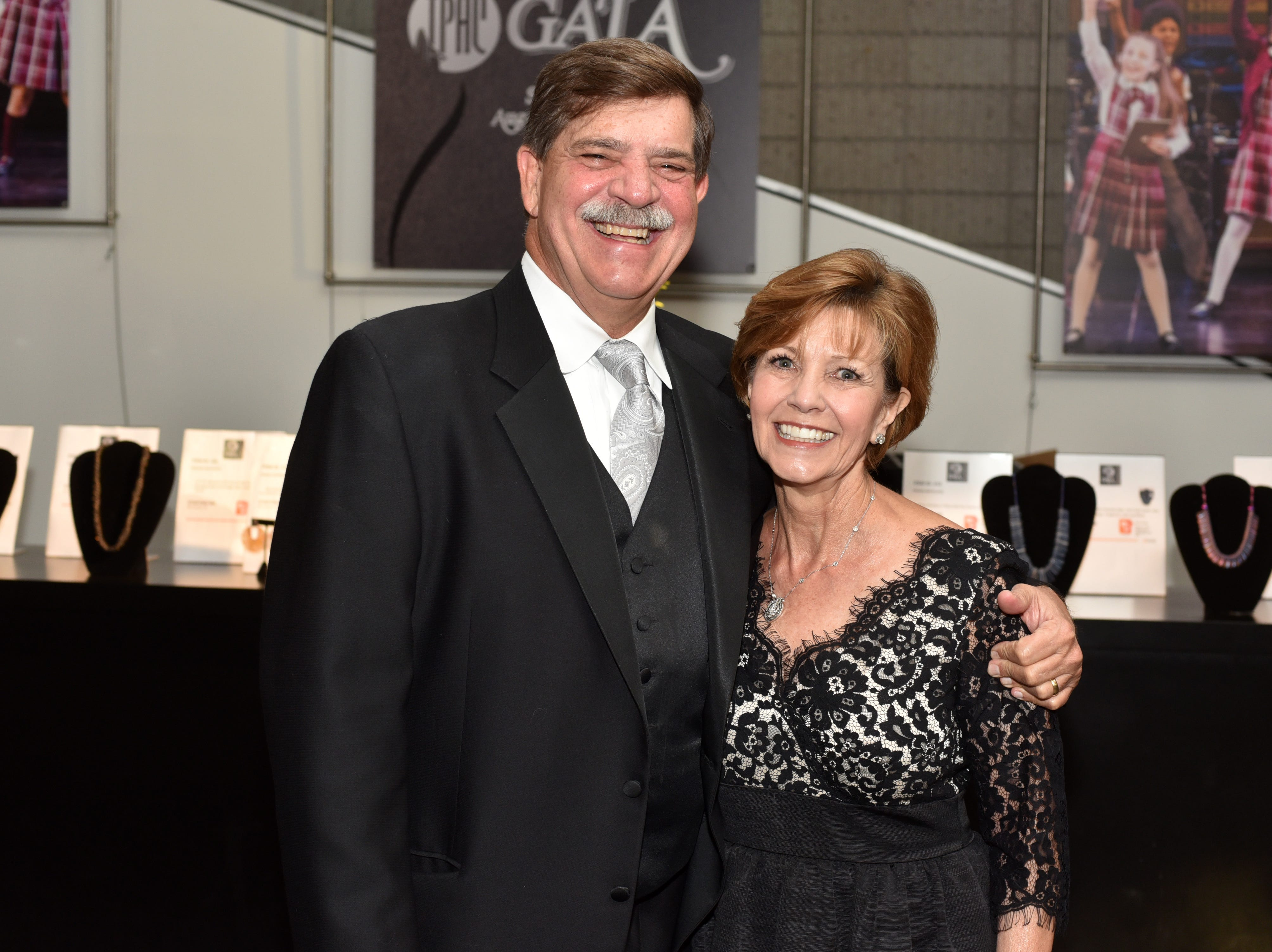 Phil and Brenda Wenk at the 18th annual TPAC Gala Aug. 25.
