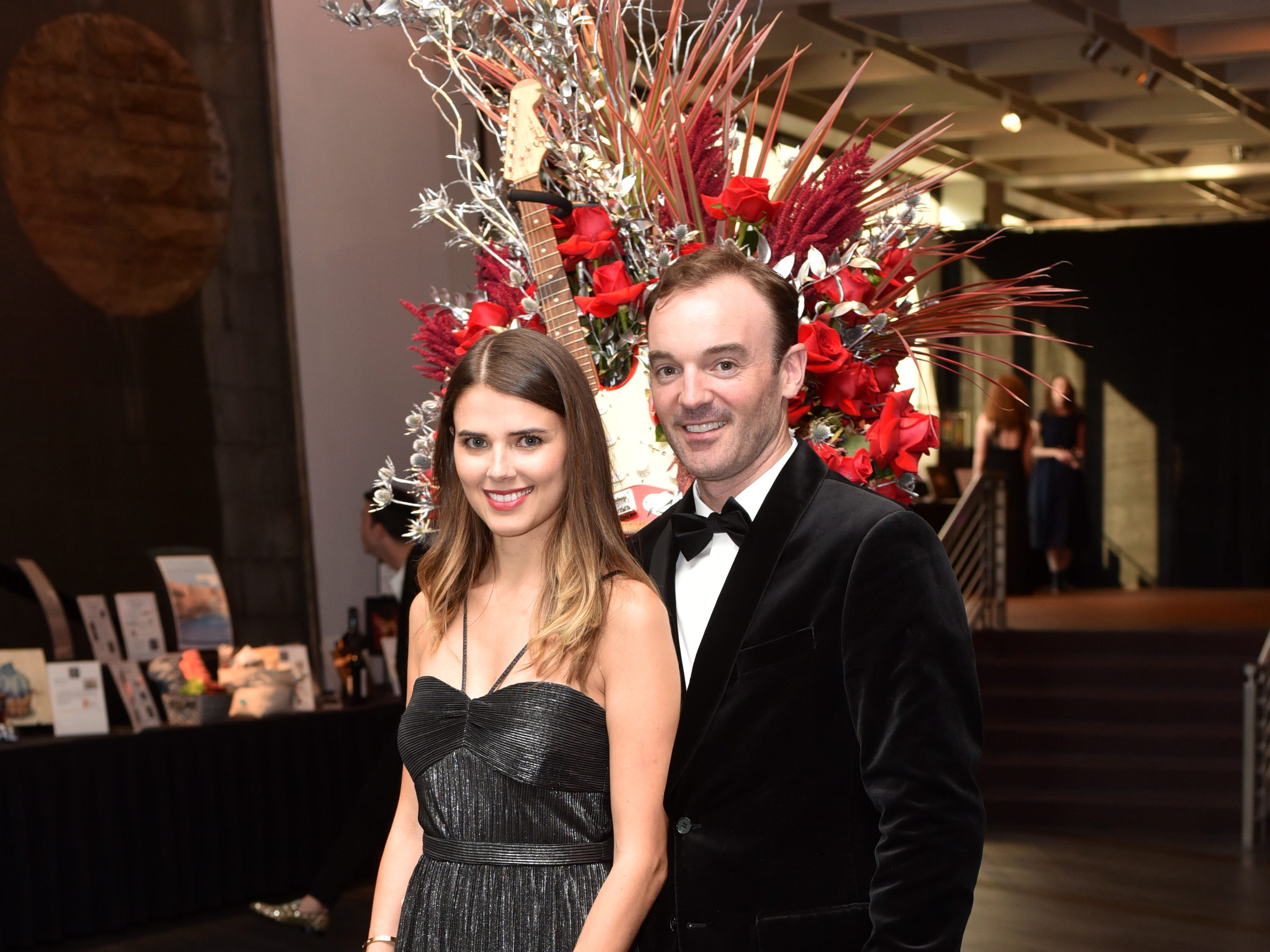 Gala co-chairs Micaela and Sam Reed at the 18th annual TPAC Gala on Aug. 25.