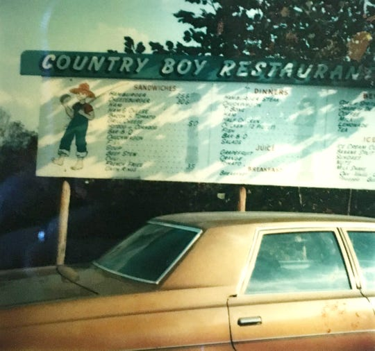 These are in the early days of the Country Boy in the 1970s.
