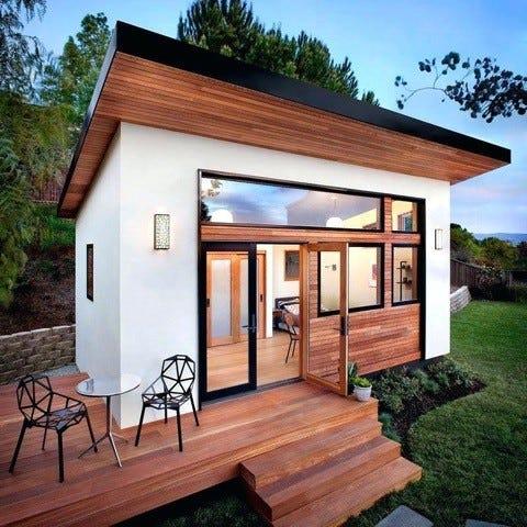 Williamson County CASA shares the inspiration photo for a custom-built playhouse.