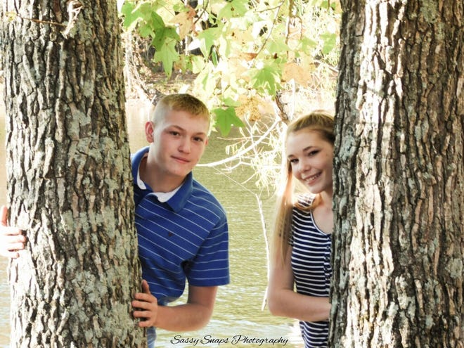 Layton Woodard died Sunday morning in a one-vehicle wreck in Dickson County. His sister Chelsie Woodard remains in critical condition.