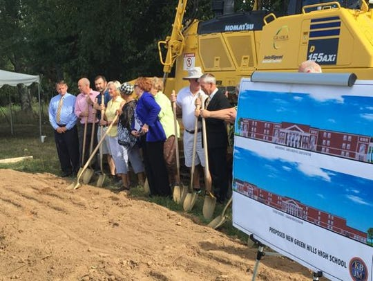 Wilson County Schools recently broke ground on a new high school that was approved for funding in Mt. Juliet.