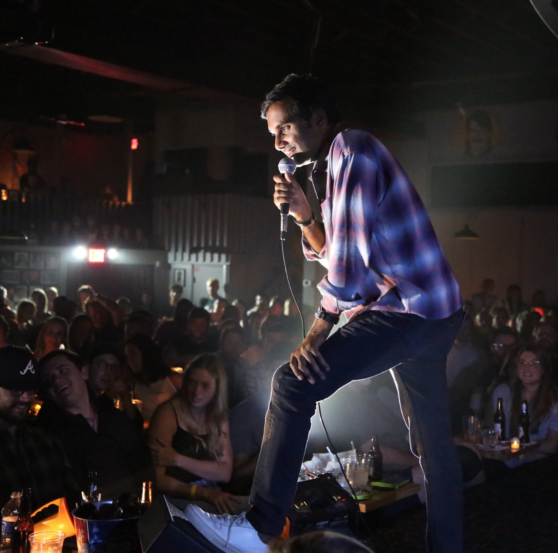 Aziz Ansari perfoms at Zanies Nashville in the...