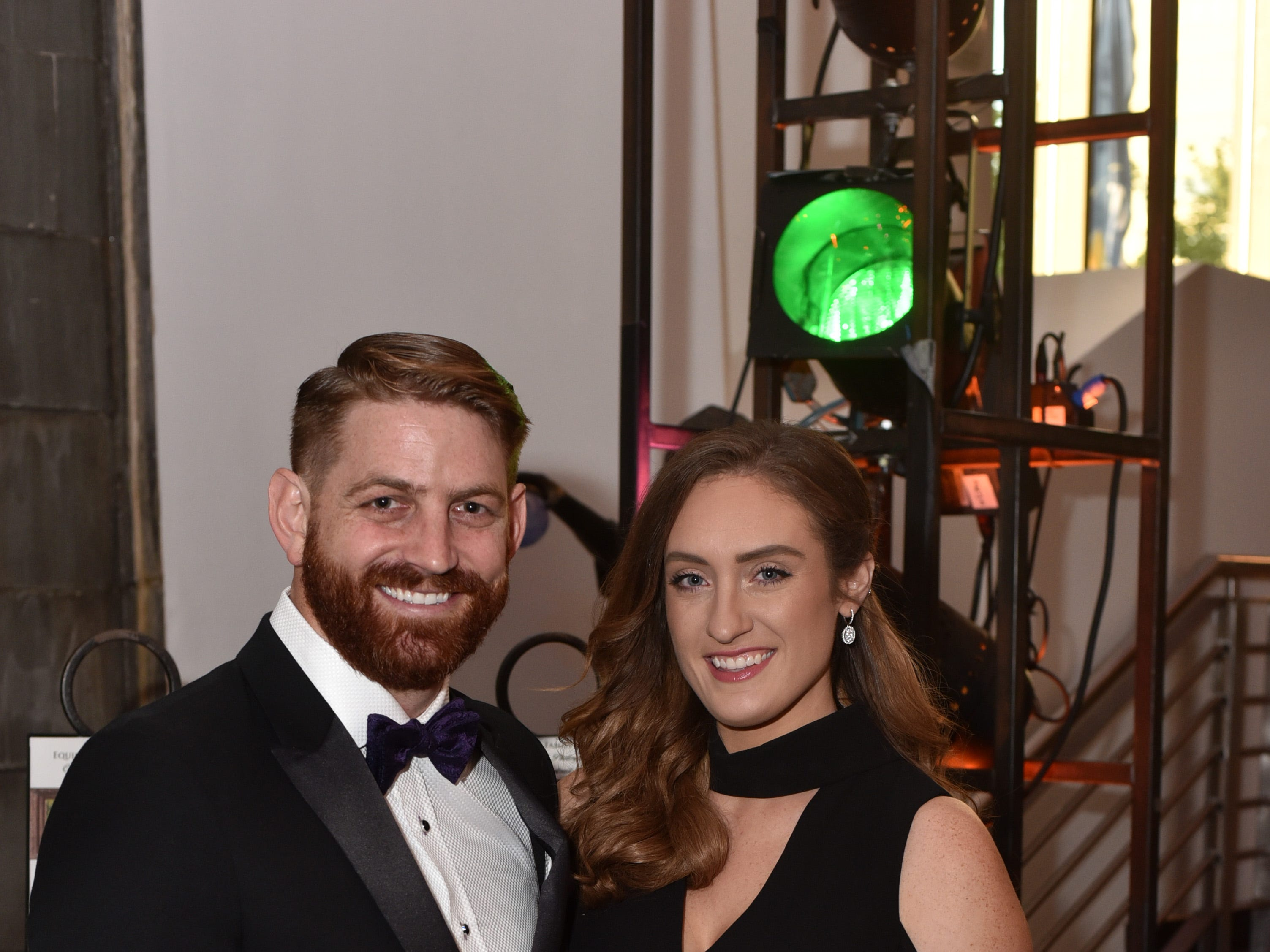 Kevin and Sara Hartley at the 18th annual TPAC Gala on Aug. 25.
