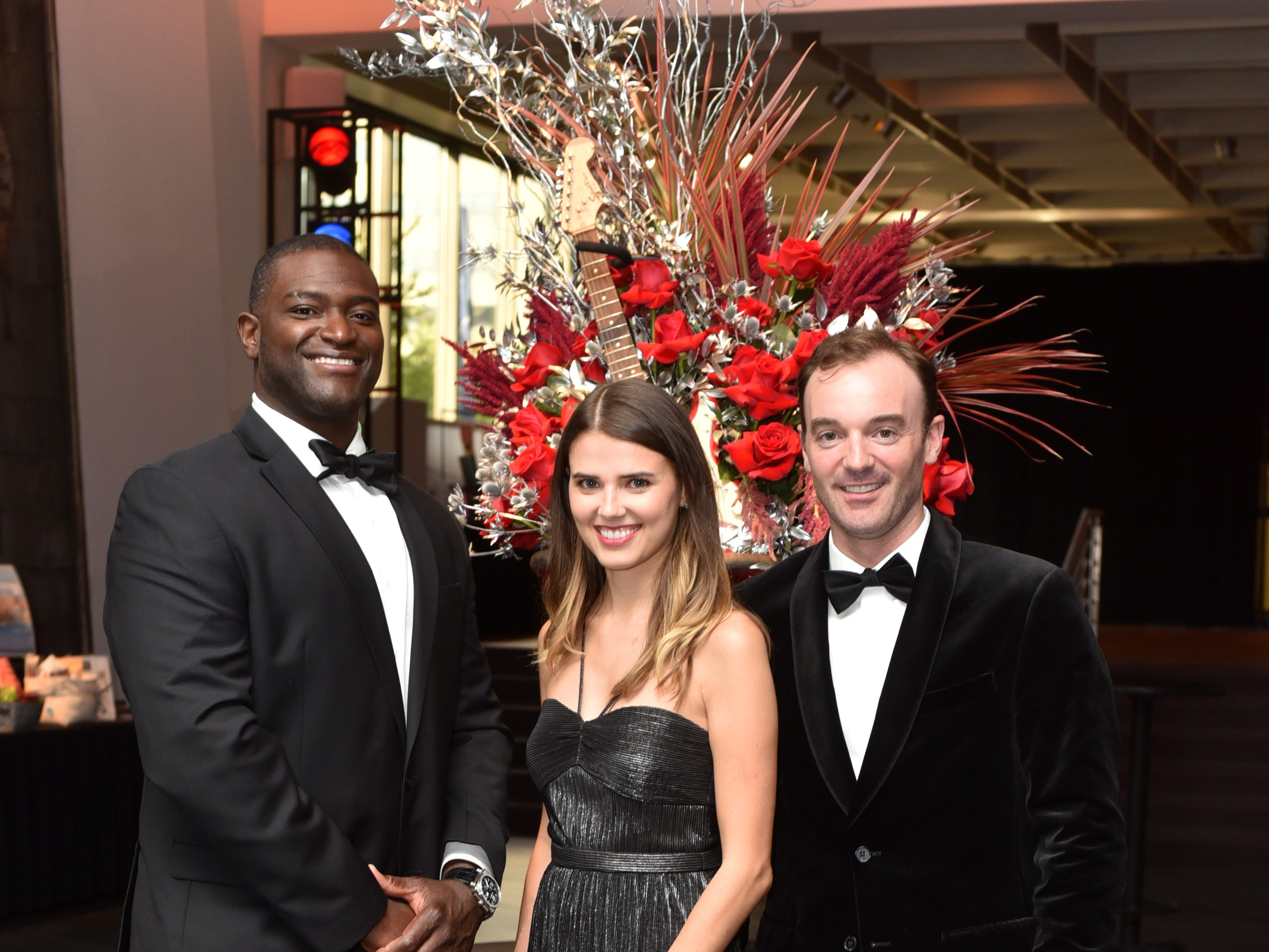 Chris Spencer with Micaela and Sam Reed at the 18th annual TPAC Gala on Aug. 25.
