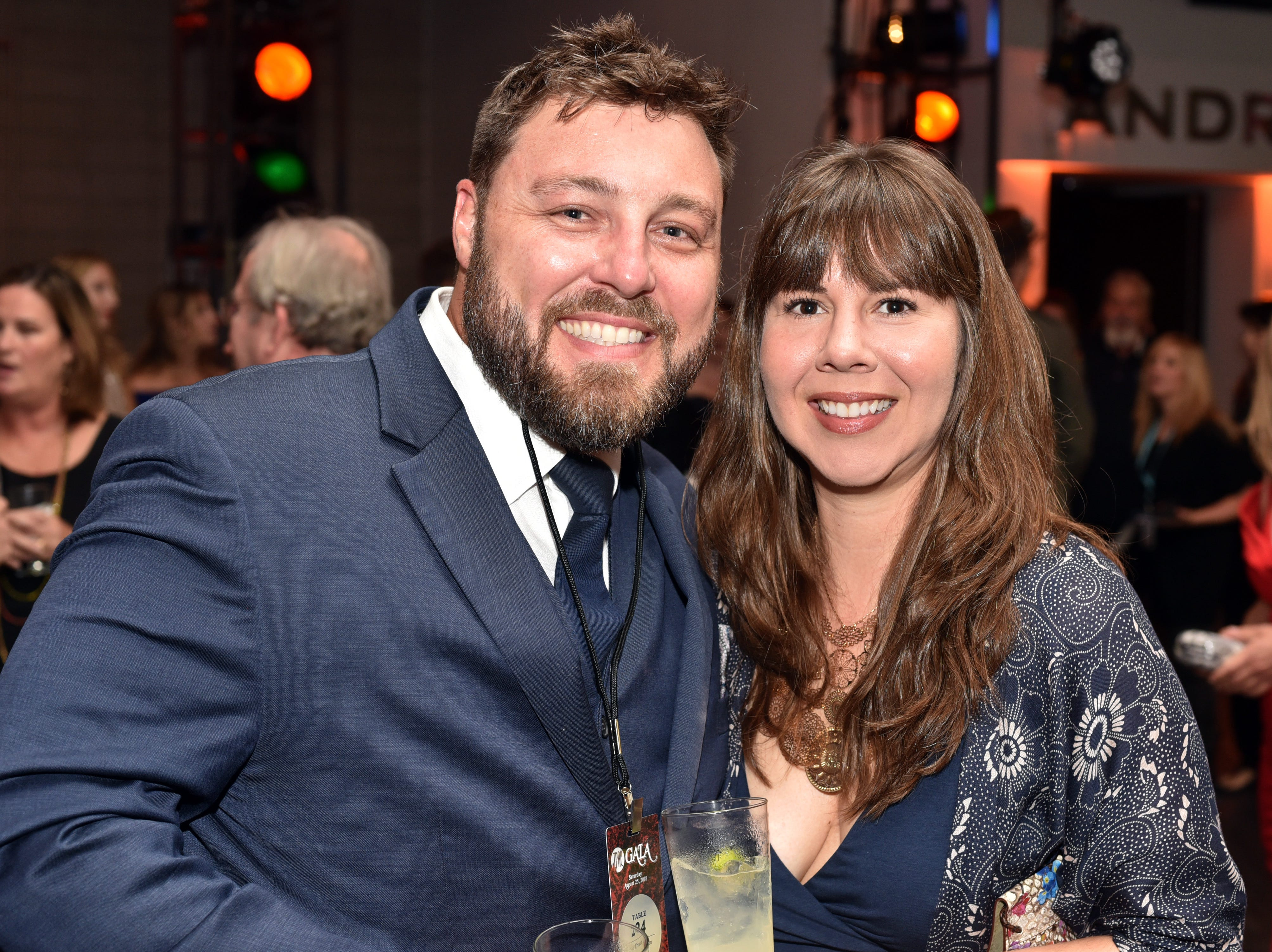 Peter Erickson and Lindsey Walker at the 18th annual TPAC Gala on Aug. 25.