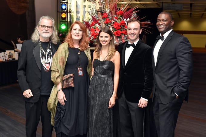 Tim and Kathleen O'Brien with Sam and Micaela Reed and Chris Spencer at the 18th annual TPAC Gala on Aug. 25.