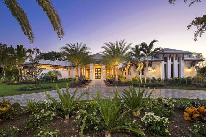 Seagate Development Group's 5,524-square-foot Oakmont grand estate model at Quail West.