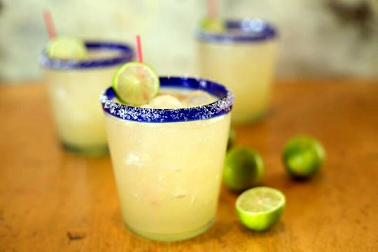 Margaritas are made fresh at Felipe's Mexican Taqueria.