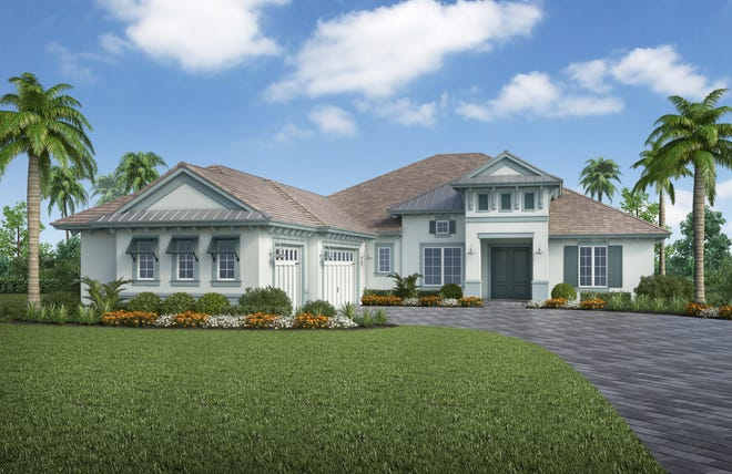 Stock Signature Homes has introduced its Cottonwood Collection offering eight floor plans at The Isles of Collier Preserve.