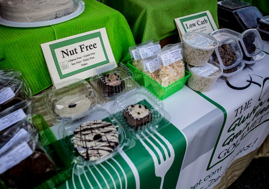A few baked goods available from Jennifer Cuevas, owner ofThe Gluten & Grain Free Gourmet.