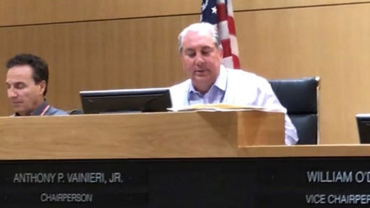 Hudson County Freeholder Chairman Anthony Vainieri said Tuesday that the board would postpone until next month a vote to terminate its agreement with Immigration and Customs Enforcement to house detainees at at the county jail in Kearny.
