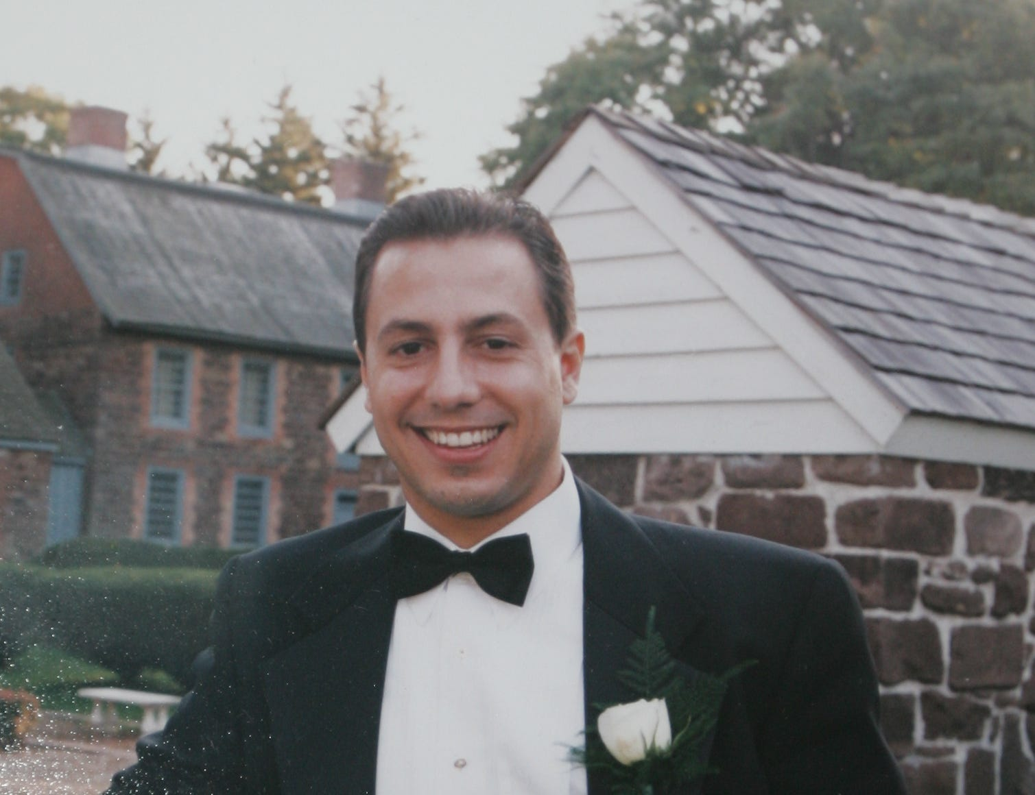 Craig Lilore. is shown in 1999, less than two years before he was killed at the World Trade Center on 9/11.