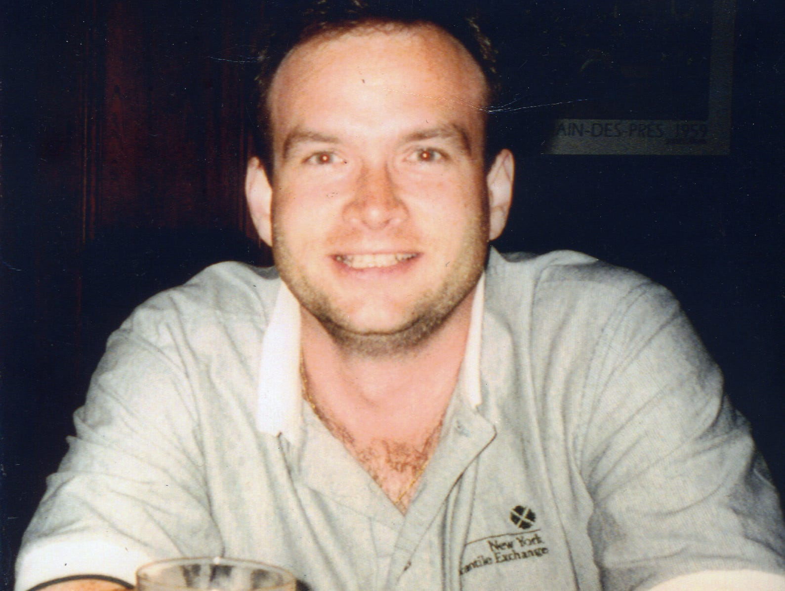 Former Oakland resident Thomas McGinnis, who died at the World Trade Center on 9/11; Photo courtesy of Iliana McGinnis.