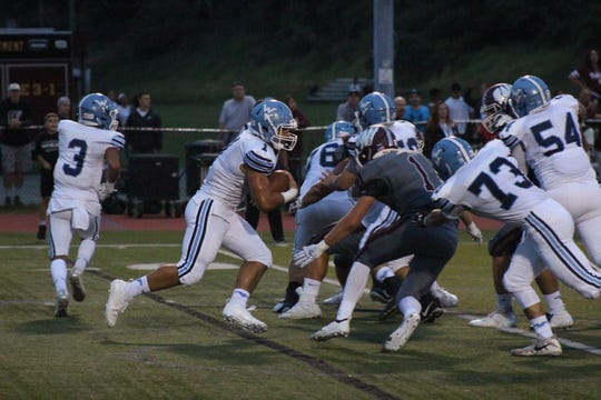 Wayne Valley's Nick Trani rushed for 68 yards against Wayne Hills.
