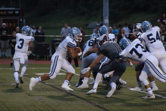 Wayne Valley's Nick Trani rushed for 68 yards against Wayne Hills.