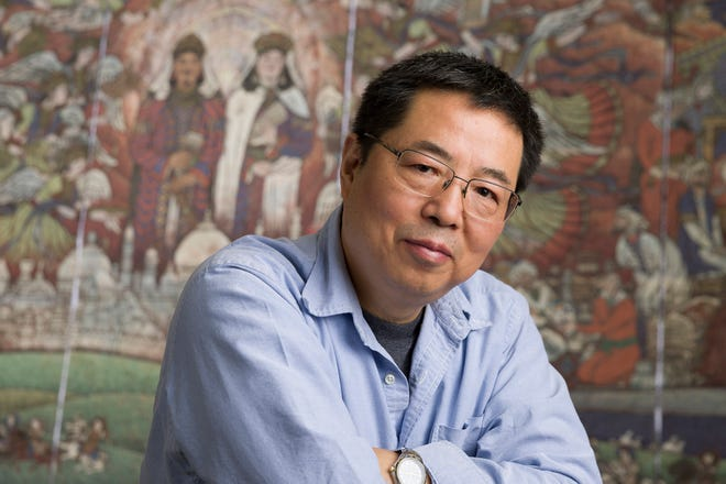 Zhiyuan Cong, an art professor at William Paterson University, is a finalist in an international art competition, commissioned by a museum in his native China.