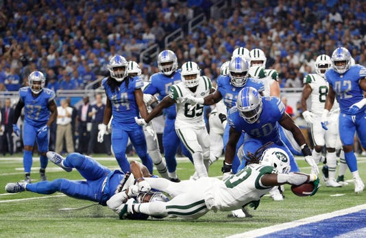Nfl New York Jets At Detroit Lions