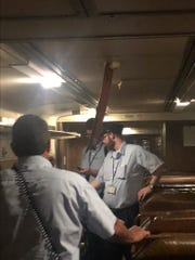 On Friday, a metal barb pierced the roof of a NJ Transit Train traveling through the Hudson River Tunnel.