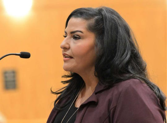 Doña Ana County Clerk Amanda López Askin.