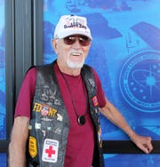 New Mexico Museum of Space History volunteer Don McMorris